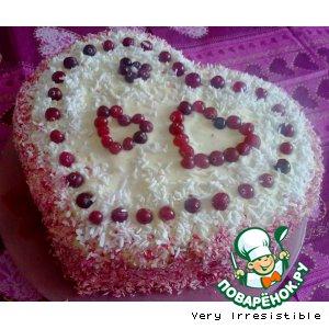 "Торт ""4 Сердца"""