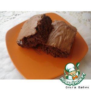 Греческий шоколадный кекс на дрожжах
