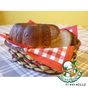 Хлеб на меду с кунжутом