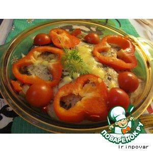 Камбала «Праздничная» с овощами