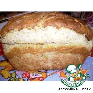 Катофельно-укропный хлеб
