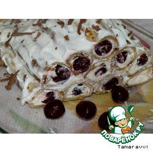 """Блинный торт """"Масленичная изба"""""""