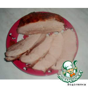 Свинина в клюквенном соусе