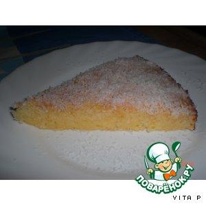 "Пирог ""Сладкий кокос"""