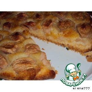"Яблочный пирог ""Карамелька"""