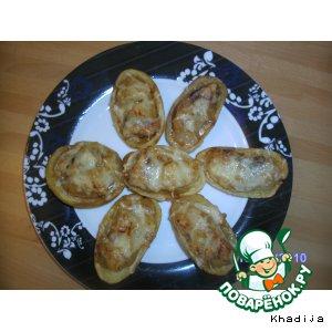 """Картофельные лодочки, фаршированные индейкой по-тайски """"Для Натти"""""""