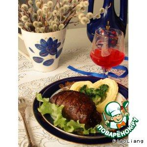 Ужин охотника из мяса дичи