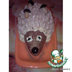 """Торт """"Ежик"""""""