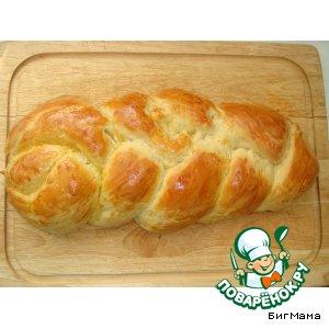 """Цопф (швейцарский воскресный хлеб) """"от Маруси"""""""