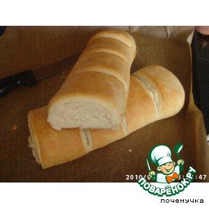 Белый Слоеный Хлеб