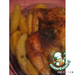 Курица в масляном маринаде
