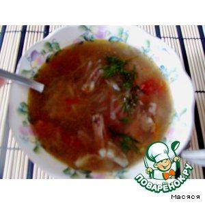 Томатно-картофельный суп