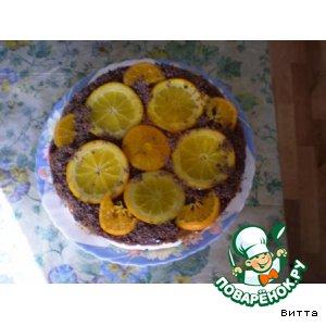 """Торт """"Апельсиновое солнце"""""""