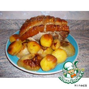 Мясо, приготовленное в духовке