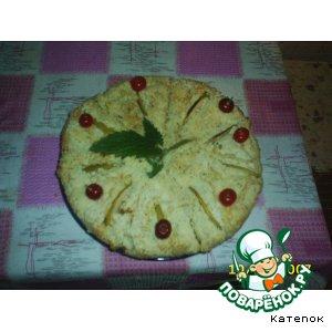 Пирог творожный нежный!!