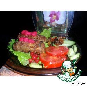 Гречневые колбаски