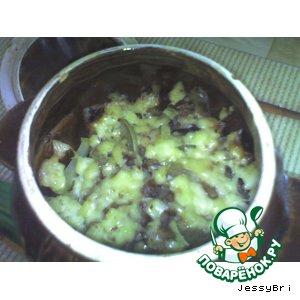 Овощи из горшочка