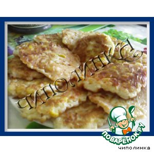 Оладушки с сыром