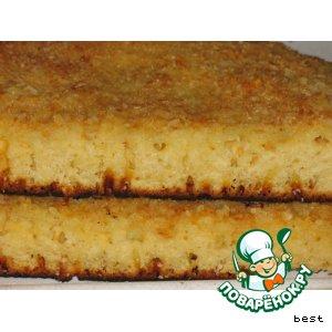 """Кокосовый пирог """"Buttermilchschnitten"""""""