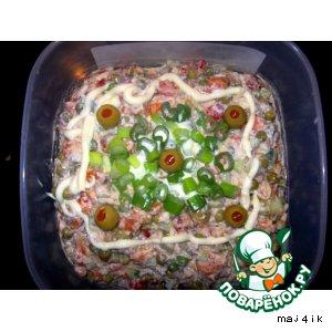 """Остренький салатик """"Ассорти"""""""