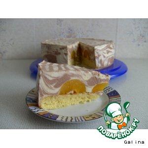 Торт творожный «Паутинка»