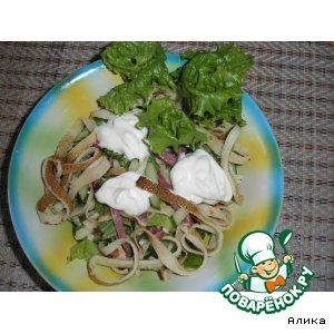 Салат «Ленточки»