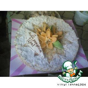 """Украшение торта """"Наполеон"""""""