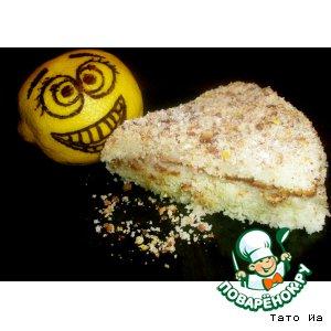 """Торт-пирог """"Лимончо"""""""