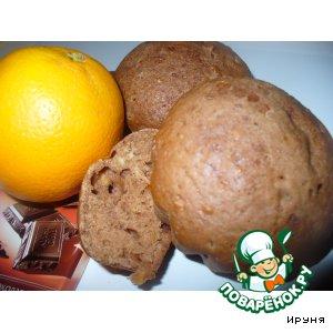 Апельсиново-шоколадные маффины