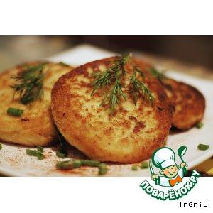 Картофельные пирожки с мясной начинкой
