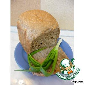 Хлеб пшенично-ржаной с семечками (рецепт для ХП)