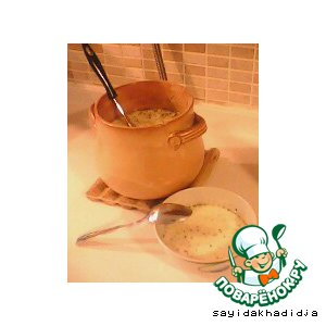 "Турецкий йогуртный суп ""Яйла"""