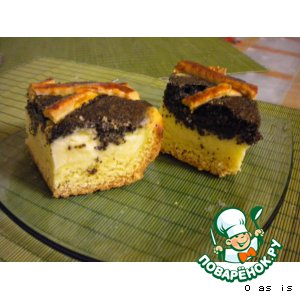 Mohn-Quarkkuchen - Маково-творожный пирог