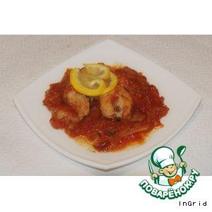 Рыба в томате с луком