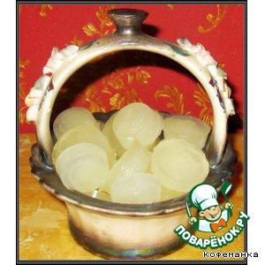 Лимонные кубики льда