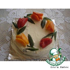 "Рыбный торт ""Наполеон"""