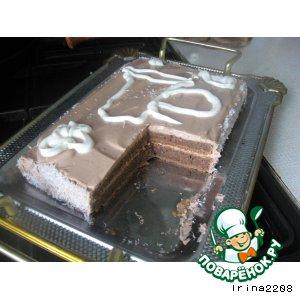 Кисломолочный торт