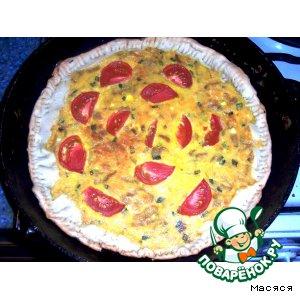 Сырно-луковый пирог 2