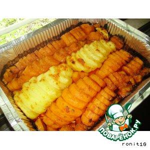 Картофель/батат запечeнный