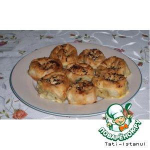Розы-пирожки
