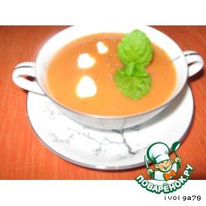 Сытный суп с болгарским перцем