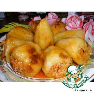 Болгарские перцы фаршированные