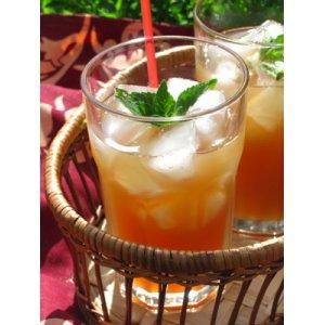 Яблочно-мятный холодный чай
