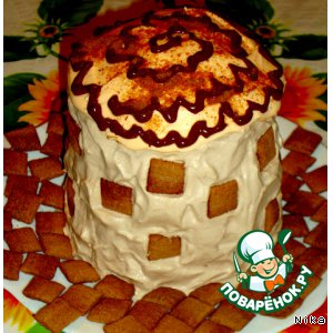 """Бисквитный   торт   """"Толстая    Маргарита"""""""