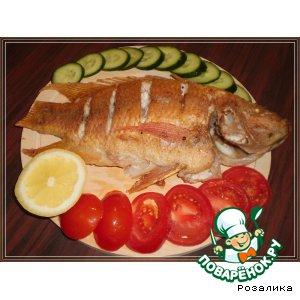 Жареная рыбка Тилапия (Tilapia)