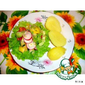 """Овощной салат """"Витамин"""""""