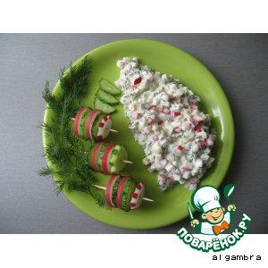 "Салат из редиски ""Вкус детства"""