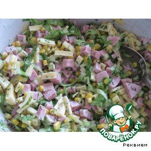 Простой салат для новичков