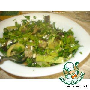 """Летний салат """"Yaz tursusu"""""""