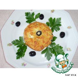 Сырные лепeшки - 3. С маслинами